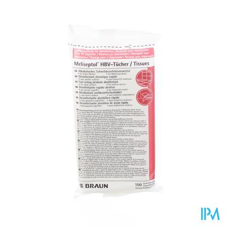 Meliseptol Hbv Ontsmettingsdoekjes Navulpak 100