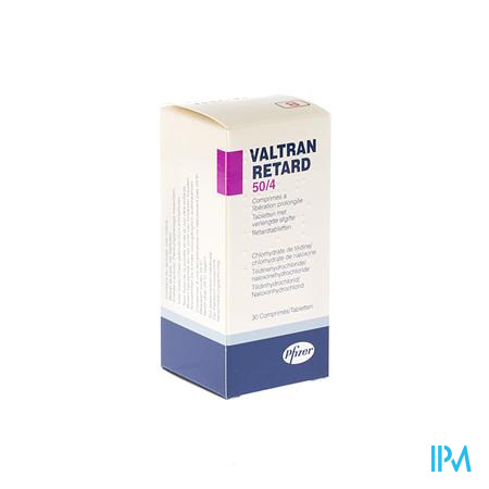 Valtran Retard Comp 30 X 50/ 4mg
