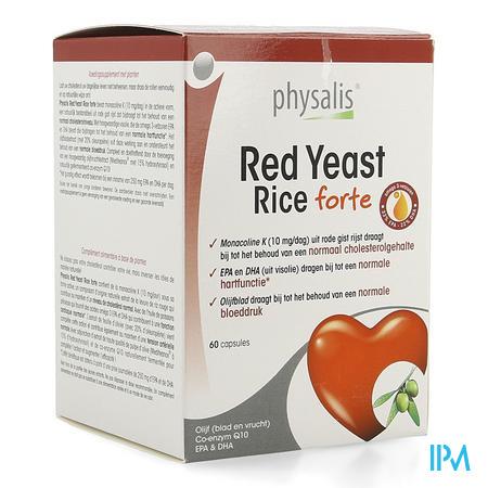 Physalis Red Yeast Rice Forte Capsule 60  -  Keypharm