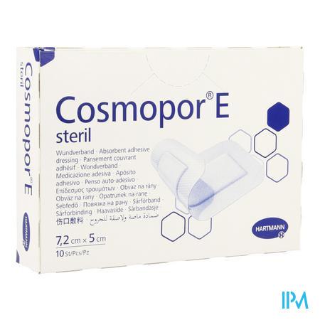 Cosmopor E Latexfree 7,2x5cm 10 P/s