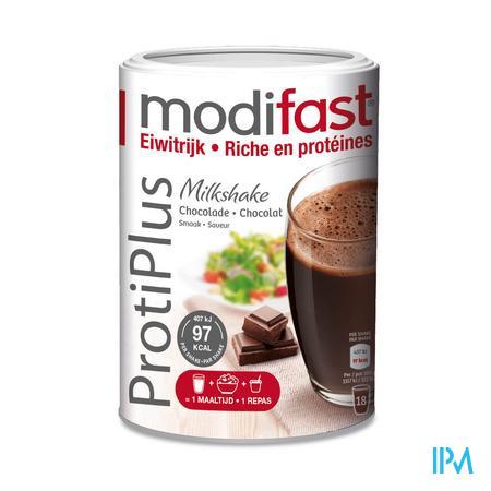 Farmawebshop - MODIFAST PROTIPLUS MILKSHAKE CHOCOLADE 540G