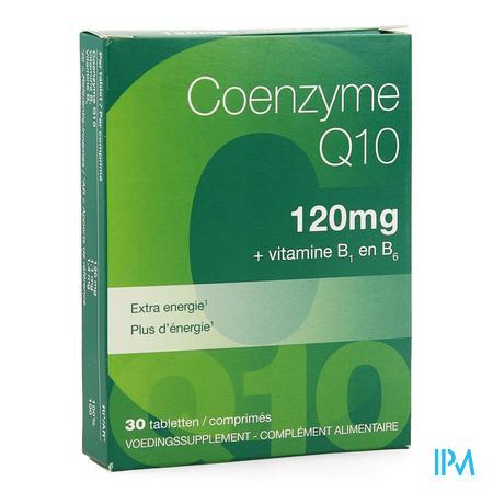 Coenzyme Q10 120mg Nf Tabl 30 5791