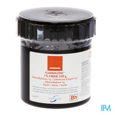 Flammazine 1% Creme 1 X 500 gr