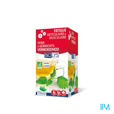 Biolys Netel Infusie 20 zakjes