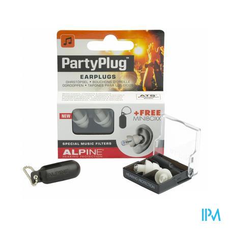 Afbeelding Alpine PartyPlug Oordoppen met Speciale Muziekfilters 1 Paar .