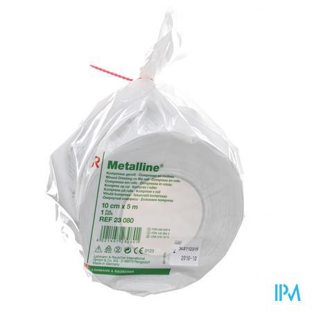 Metalline Kompres N/st Rol 10cmx5m 23080