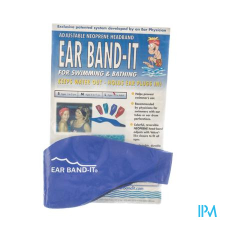 Ear Band-It Nager Neoprene Large 1 pièce