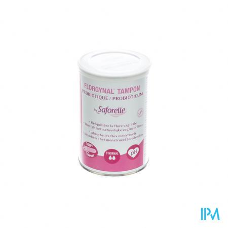 Florgynal Compact Tampon Normal 9 pièces