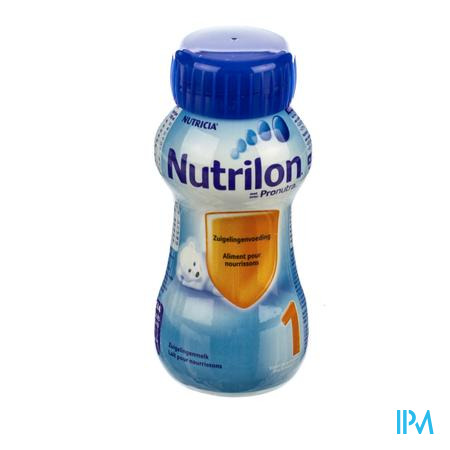 Nutrilon 1 Stand Fles 200 ml