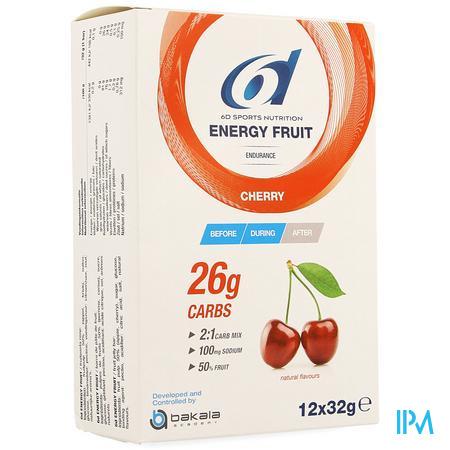 6d Energy Fruit Cherry 12x32g