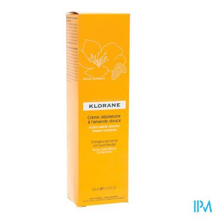 Afbeelding Klorane Ontharingscrème Benen 150 ml.