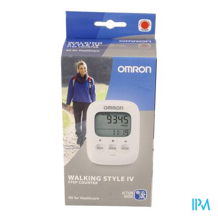 Omron Walking Style Iv Stappenteller Wit
