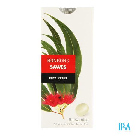 Afbeelding Sawes Eucalyptus Bonbons Balsamico zonder Suiker 10 Stuks.