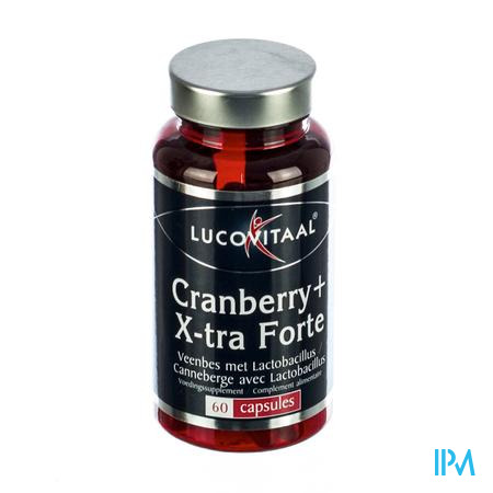 Lucovitaal Cranberry Extra Forte 60 capsules