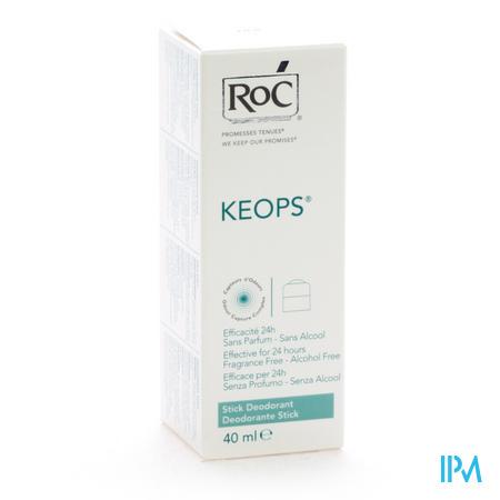 Roc Keops Deo Sans alcool 40 ml stick