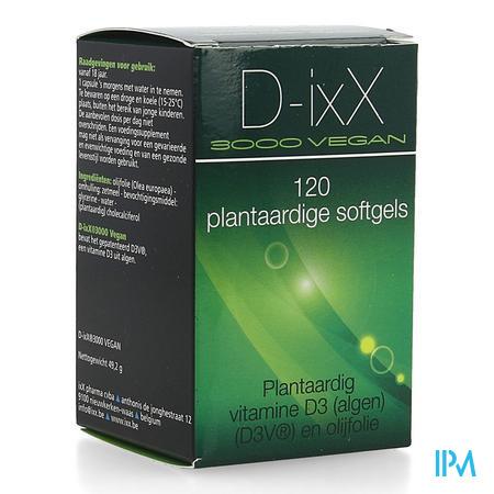 D-ixx 3000 Vegan Soft Caps 120