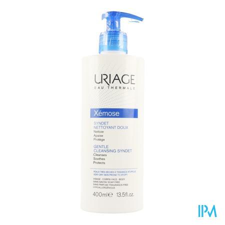 Afbeelding Uriage Xémose Milde Reinigende Gel-Crème voor Zeer Droge Huid en Huid met Neiging tot Atopie 400 ml.