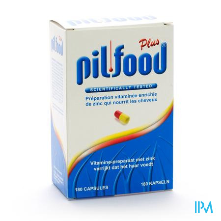 Farmawebshop - PILFOOD PLUS 180CAPS