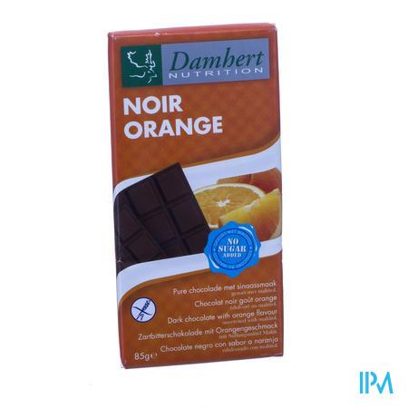 Damhert Chocolade Zwarte Sinnas Zonder Suiker 85 g