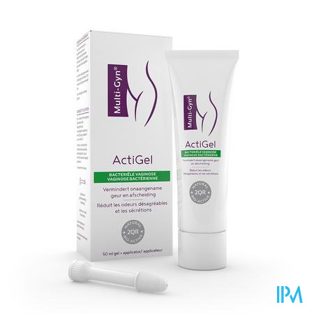 Afbeelding Multi-Gyn Actigel bij Vaginale Geur, Overmatige Afscheiding, Jeuk en Irritatie Gel 50 ml + Applicator .