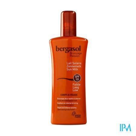 Bergasol Fris Melkspray SPF 10 125 ml