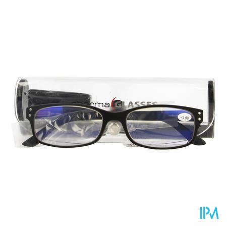 Pharmaglasses Visionblue Pc01 Leesbril +3.00 Black