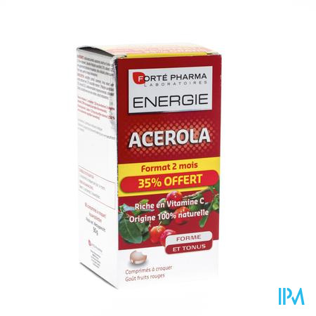 Energie Acerola 35% Gratuit Comp A Croquer 60