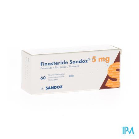 Finasteride Sandoz 5 mg Tabletten Pell 60