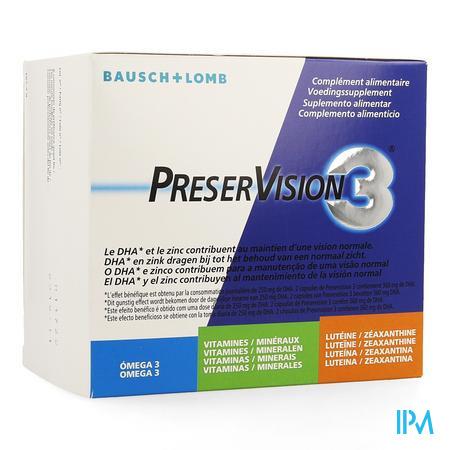 Afbeelding Preservision 3 180 caps.