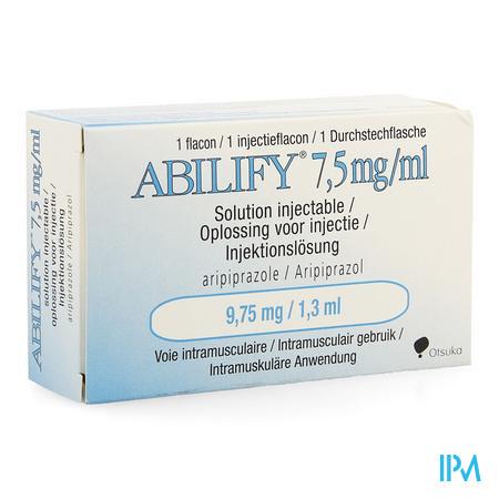 Abilify 7,5mg/ml Inj.opl Fl 1 9,75mg(1,3ml)