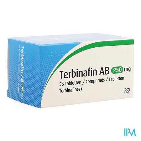 Terbinafin Ab 250mg Comp 56 X 250mg