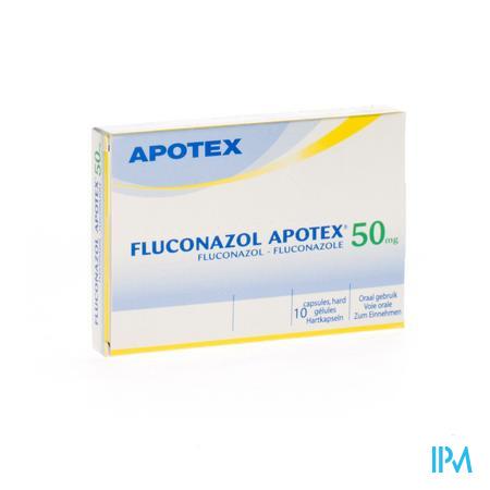 Fluconazol Apotex 50mg Caps 10