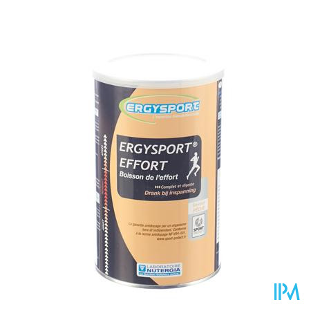 Ergysport Effort Perzik Drink Pdr Pot 450g
