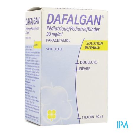 Dafalgan Pediatrie 30 mg/ml Sirop Flacon 90 ml