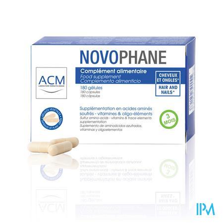 Novophane Caps 180 Etui 3 Mois