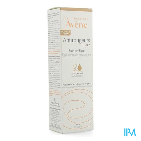 Avene Antirougeur Unify Ip30 Getinte Creme 40ml