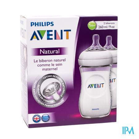 Avent Natural Biberon Duo 260 ml