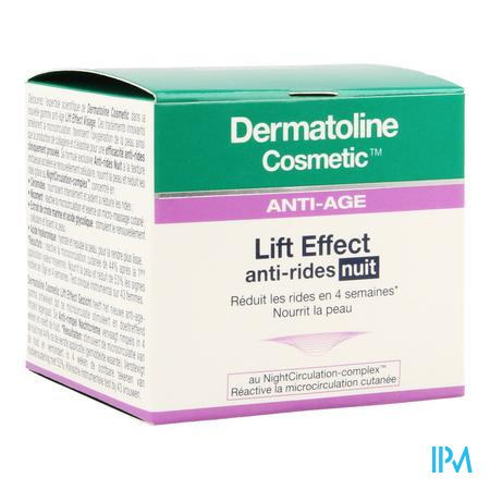 Dermatoline Cosmetic Le A/rimpel Nachtcr 50ml