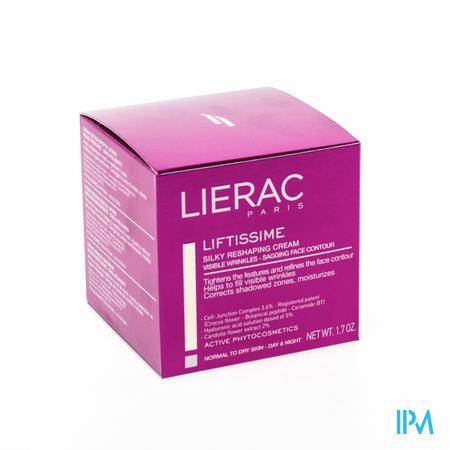 Afbeelding Lierac Liftissime Zijige Modellerende Dag- en Nachtcrème voor normale tot droge huid 50ml.