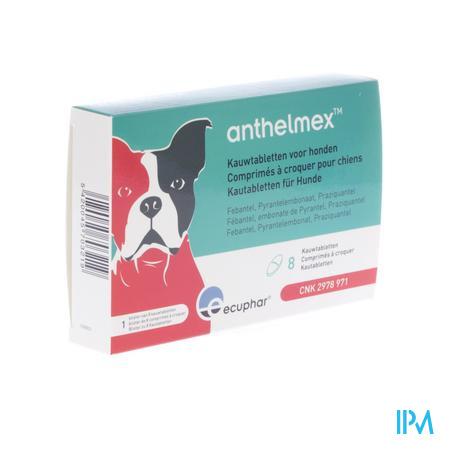 Anthelmex Kauwtabl. Hond 8