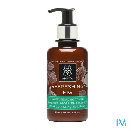 Apivita Refreshing Fig Bodymelk 200ml