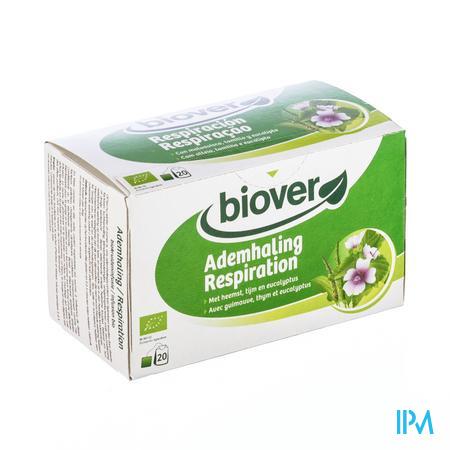 Biover Biokruideninfusie Ademhaling 20 zakjes
