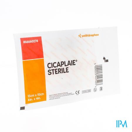 Cicaplaie Verb Steriel 15,0cmx10cm 1 66660274