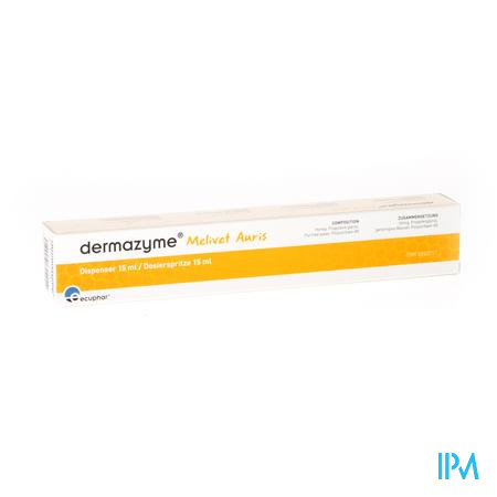 Dermazyme Melivet Auris 15 ml druppels