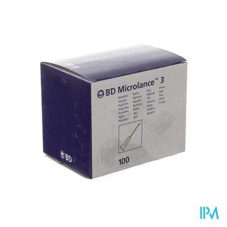 Bd Microlance 3 Naald 19g 1 Rb 1,1x40mm Creme 100