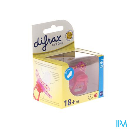 Difrax Sucette Sil Dental Xtra Forte +18m 342