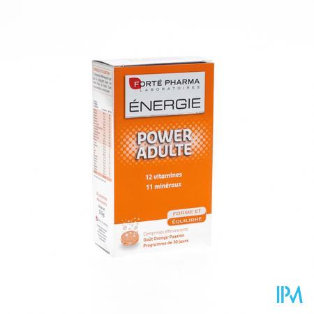 Forté Pharma Energie Power Adulte 30 bruistabletten