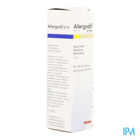 Allergodil Spray Nasal Flacon 10 ml