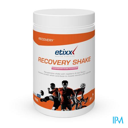 Afbeelding Etixx Recovery Shake Framboos-Kiwismaak 1,5 kg.