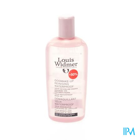 Louis Widmer Démaquillant Yeux - Waterproof - Non-Oily (Sans Parfum) 100 + 50 ml